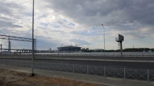 """Стадион """"Санкт-Петербург"""", пожалуй, одна из самых известных строек Санкт-Петербурга"""